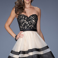 Strapless Sweetheart A-Line Prom Dress