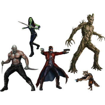 Guardians Of The Galaxy Collection Fathead