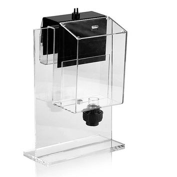 Marine source Siphon hang on overflow box non-perforated bottom filter no need hole for fresh marine tropical fish tank