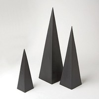 Pyramid Objet, Set of 3 | Global Views