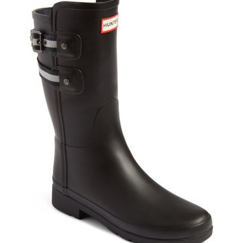 Hunter Original Refined Short Rain Boot (Women) | Nordstrom