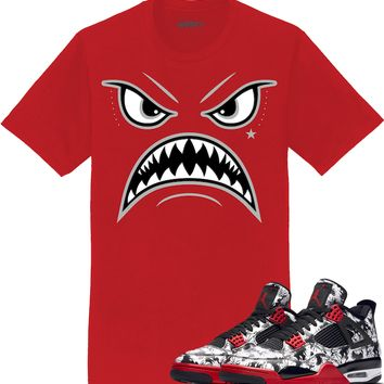 Jordan 4 Tattoo Sneaker Tees Shirt - OREO WARFACE