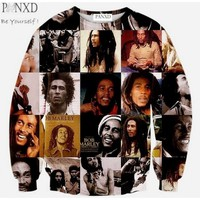 Bob Marley Collage Sweater