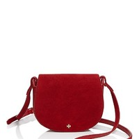 Tory BurchMini Suede Saddle Bag