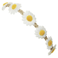 Daisy Flower Crown Headwrap | Shop Accessories at Wet Seal