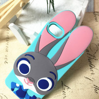Hot Deal Hot Sale Iphone 6/6s Stylish On Sale Cute Animal Rabbit Iphone Silicone Apple Phone Case [6034133569]