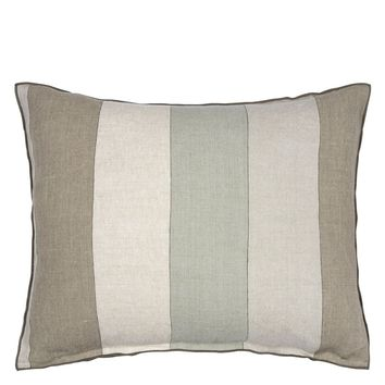 Designers Guild Brera Gessato Zinc Decorative Pillow