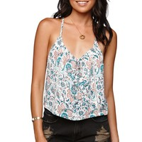 Kendall & Kylie T Strap Tank - Womens Shirts - White -