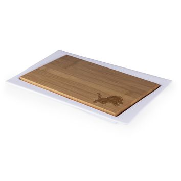 Detroit Lions - Enigma Cutting Board & Serving Tray (Bamboo)