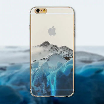 Glacier Tourism Scenery iPhone 5 5S iPhone 6 6S Plus Case + Gift Box-125