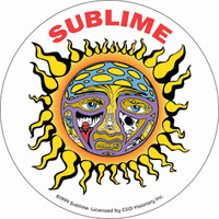 Sublime stickers - SHIPPED FREE - 1000's of rock and roll stickers, music stickers, heavy metal stickers, stickers, band stickers, tye dye stickers, heavy metal rock band stickers, Classic Rock stickers, Rock stickers, Punk Rock stickers, Hard Rock sticker