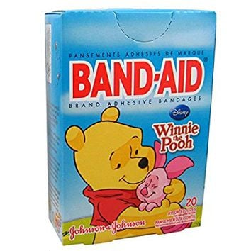 Band-Aid 20 Count Adhesive Bandages - Disney's Winnie the Pooh and Friends