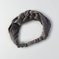 AEO Braided Headband, Gray