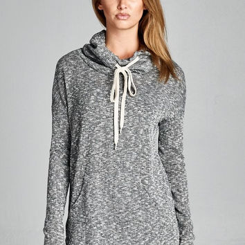 Charcoal Pullover Lightweight Sweater