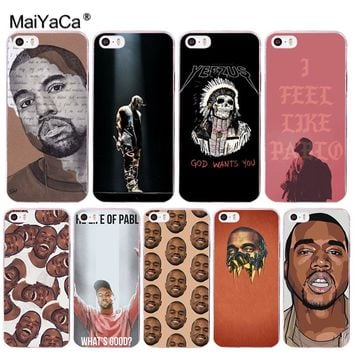MaiYaCa Kanye Omari West Coque Shell Phone Case  for Apple iPhone 8 7 6 6S Plus X 5 5S SE 5C Cover XS XR XSMAX