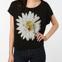 UrbanOutfitters.com > Truly Madly Deeply Sunny Daisy Box Crop Tee