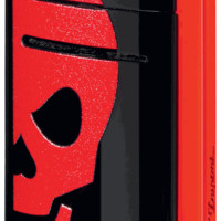 S.T. Dupont MiniJet Red Skull Torch Flame Lighter