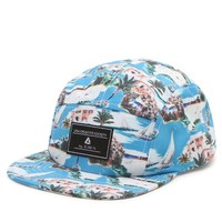 Lira Islander 5 Panel Hat - Mens Backpack - Blue - One