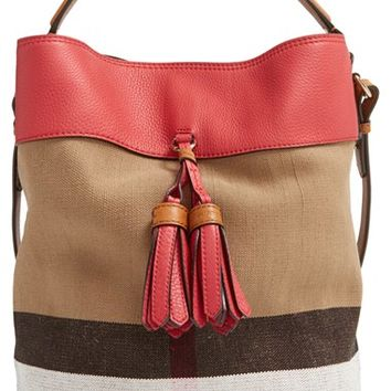 Burberry  Medium Ashby  Bucket Bag from Nordstrom  be97f0a552e5f