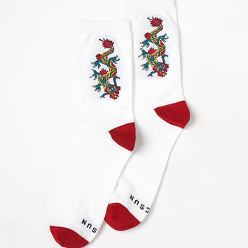 Dragon Crew Socks at PacSun.com