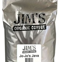Jim's Organic Coffee - Whole Bean - Jo-jo's Java - Bulk - 5 Lb.
