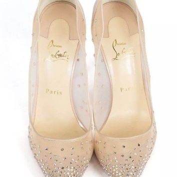 christian louboutin follies strass