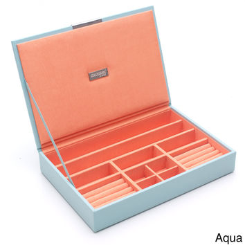 WOLF Stackables Medium Tray with Lid   Overstock.com Shopping - The Best Deals on Jewelry Boxes