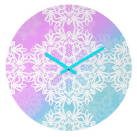 Lisa Argyropoulos Winter Land Round Clock