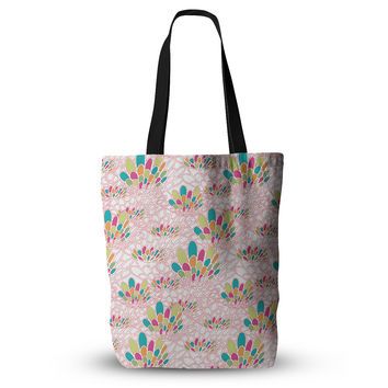 "Miranda Mol ""Blown Away"" Pink Multicolor Everything Tote Bag"