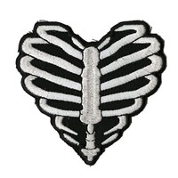 Ribcage Heart Patch - 849964