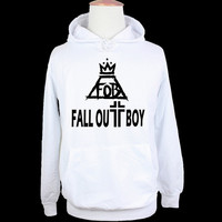 Fall Out Boy Rock Band Patrick Stump FOB Couple Graphic Hoodie Birthday Family Custom Vacation Personalized Design Pattern Men's Women's Girl's Boy's Hoodie Sweatshirt Hoody TopsBirthday Family Custom Vacation Personalized Design Pattern   = 1932692036