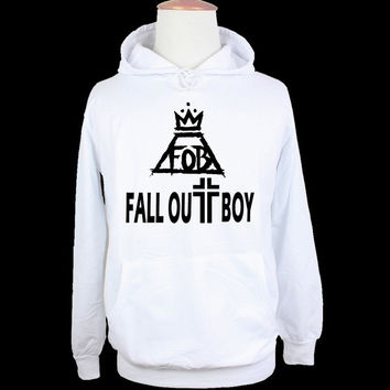 Fall Out Boy Rock Band Patrick Stump FOB Couple Graphic Hoodie Birthday Family Custom Vacation Personalized Design Pattern Men's Women's Girl's Boy's Hoodie Sweatshirt Hoody TopsBirthday Family Custom Vacation Personalized Design Pattern Men's Women's Gir