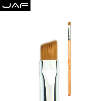 JAF Angled Eyebrow Brush Synthetic Taklon Hair Gel Eyeliner Brush Brand Make Up Eye Liner Brush Bevel Brush for Eye Brow #04SBYA