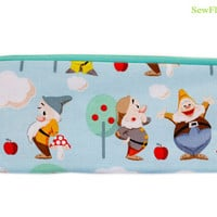 NEW Seven Dwarfs Pencil Case | Inspired by Disney Bag | Snow White and the Seven Dwarfs | 7 Dwarfs Bag | Woodland