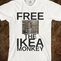 FREE THE IKEA MONKEY FUNNY T SHIRT MEME - get you some!