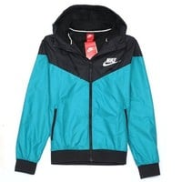 NIKE Hooded Zipper Cardigan Sweatshirt Jacket Coat Windbreaker Sportswear