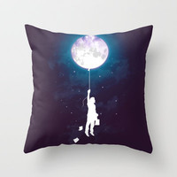 Burn the midnight oil  Throw Pillow by Budi Satria Kwan | Society6