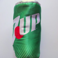 Vintage Seven-Up Spot Reversible Stuffed Animal 1987