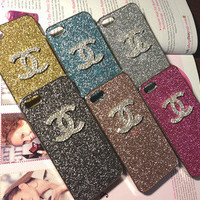 luxury bling iphone 5 Ch anel Coco case
