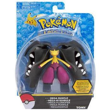 "Tomy Pokemon Mega Mawile 5"" Hero Articulated Action Figure USA Seller Authentic"