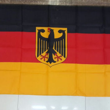 Army flag German flag eagle flag 90 * 150CM shop world flags are sold to custom-quality polyester celebration decoration free