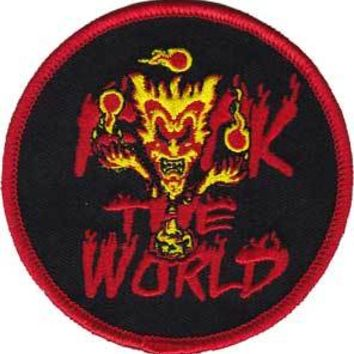 Insane Clown Posse Iron-On Patch Round FTW Logo