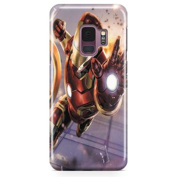 Iron Man Black Version Samsung Galaxy S9 Plus Case | Casefantasy