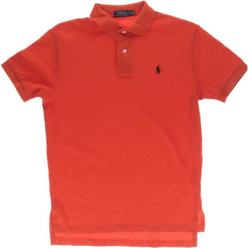 Polo Ralph Lauren Mens Textured Short Sleeves Polo