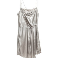 Shimmering Metallic Dress - from H&M
