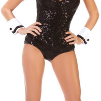 Party Bunny Black Adult Costume