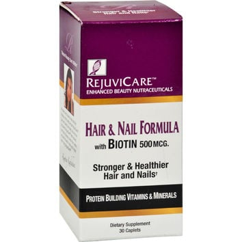 Windmill Health Products Rejuvicare Hair And Nail Formula - 30 Caplets