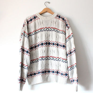 Cotton Vintage Knit Sweater
