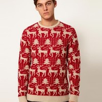 ASOS Holiday Sweater - Stone
