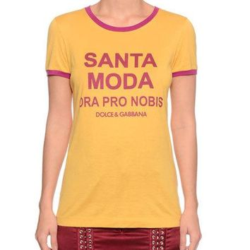 Dolce & Gabbana Santa Moda Crewneck Short-Sleeve T-Shirt and Matching Items & Matching Items | Neiman Marcus